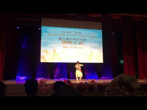 Raghava's performance at Taipei Tech International Festival