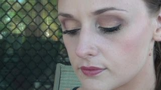 Peach and Maroon Eye Tutorial Thumbnail