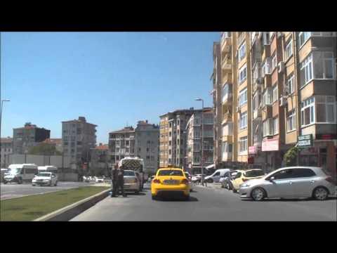 Driving around Istanbul