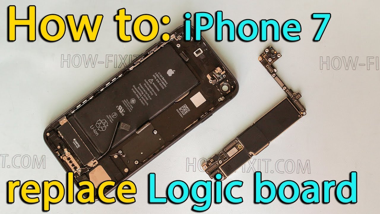 new arrival fcf4f e40b1 iPhone 7 motherboard replacement