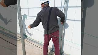 천막시공 건설사 안전통로 2차분 시공 (네이버: 천막시…