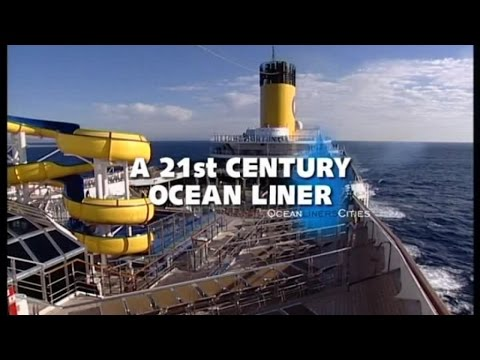 A 21st century ocean liner (Documentary, Discovery, History)