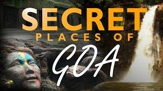 SECRET PLACES | GOA | BEACHES | WATERFALL | 2017 | INDIA