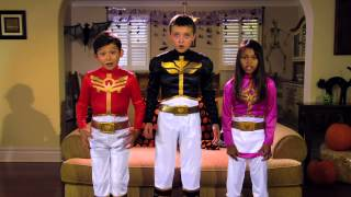 Power Rangers | Power Rangers Megaforce: MEGA Halloween Safety!
