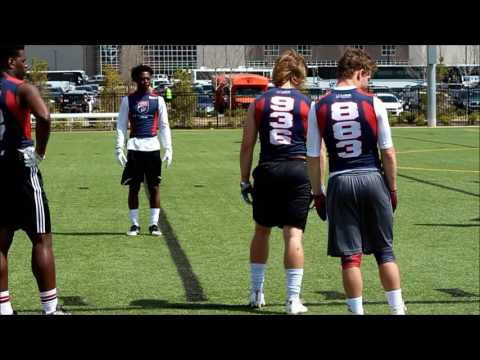 Reed Hughes #936 USA Football Development Camp Day1