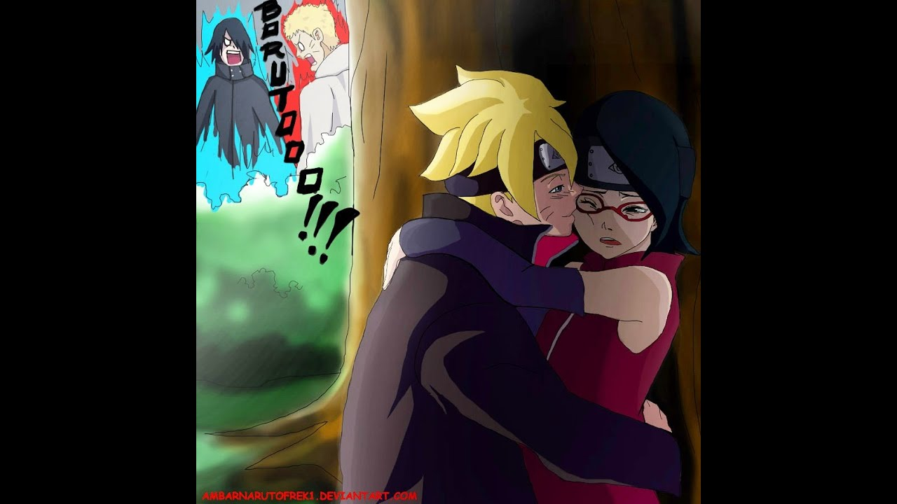 sasuke and sakura meet nine tails