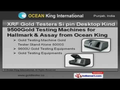 Gold Testing Machines and Equipments  by Ocean King International, Ludhiana