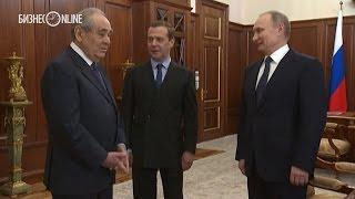 Шаймиев в гостях у Путина и Медведева   как это было