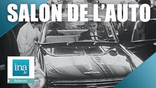 Dans le rétro du salon de l'auto | Archive INA