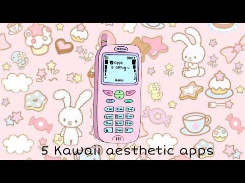 5 Kawaii Aesthetic Fun Apps You Need