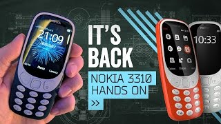 Nokia 3310 Hands On: Welcome Back To 2000!