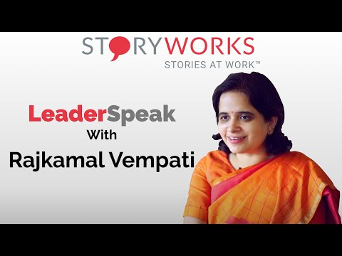 S01E05 Stories At Work - Rajkamal Vempati Head HR Axis Bank with Indranil Chakraborty StoryWorks