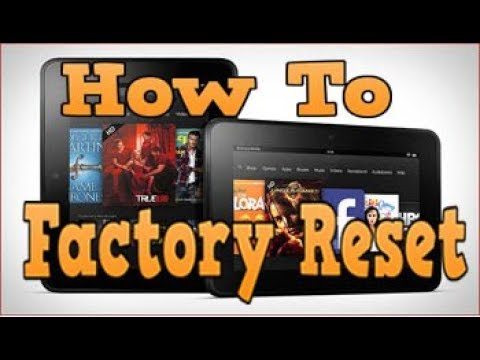 How To Factory Reset Kindle Fire | Daves Computer Tips