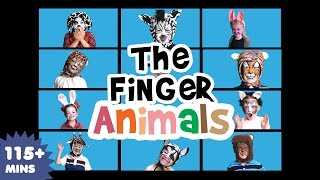 The Finger Family Animals Song | Nursery Rhymes | Kids Songs | Baby Songs