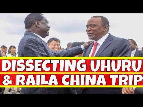 Dissecting Uhuru Kenyatta and Raila Odinga Trip to China