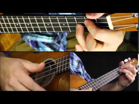 How To Play Brown Eyed Girl ukulele lesson | Easy Uke Chords - YouTube