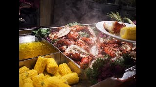 Vally View Indian Casino Lobster Buffet Experience