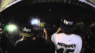 Young Lex Ft Afrogie - Teman Palsu live at Bekasi