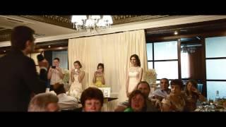 Сюрприз на свадьбе от жениха.