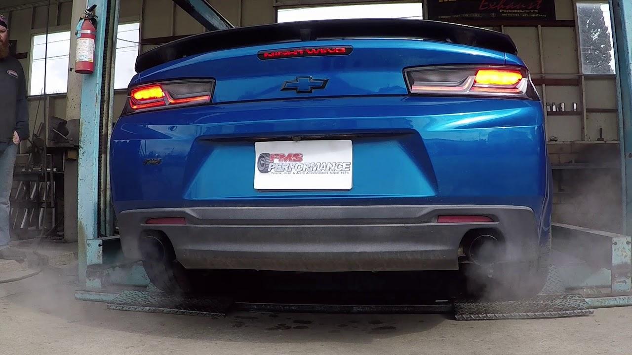 best camaro v6 exhaust fms