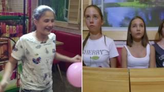 Попробуй не засмеяться челлендж / Гелиевые шары челлендж