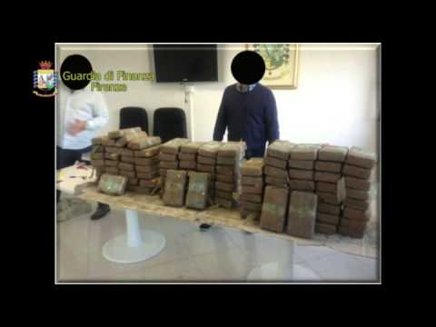 'Ndràngheta: cocaina per 43 milioni sequestrata dalla Guardia di Finanza di Firenze