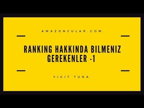 AMAZON RANKING HAKKINDA BILMENIZ GEREKENLER 1 - A9 Algoritmasına Giriş