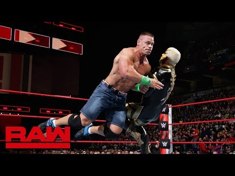 John Cena vs. Goldust: Raw, March 5, 2018