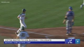 Baylor Baseball's Nick Loftin invited to USA Baseball Collegiate National Team Training Camp