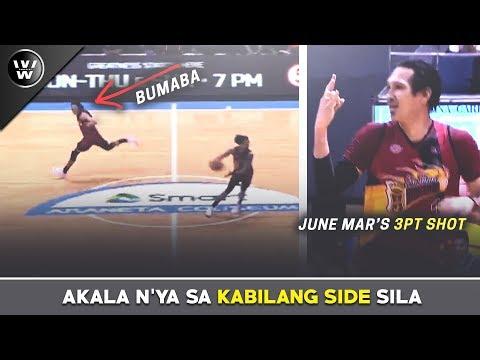 Nakalimutan ni Terrence Kung Saan ang RING nila | June Mar's Three | SMB beats NLEX