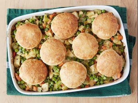 Alton Brown's Curry Chicken Pot Pie Casserole