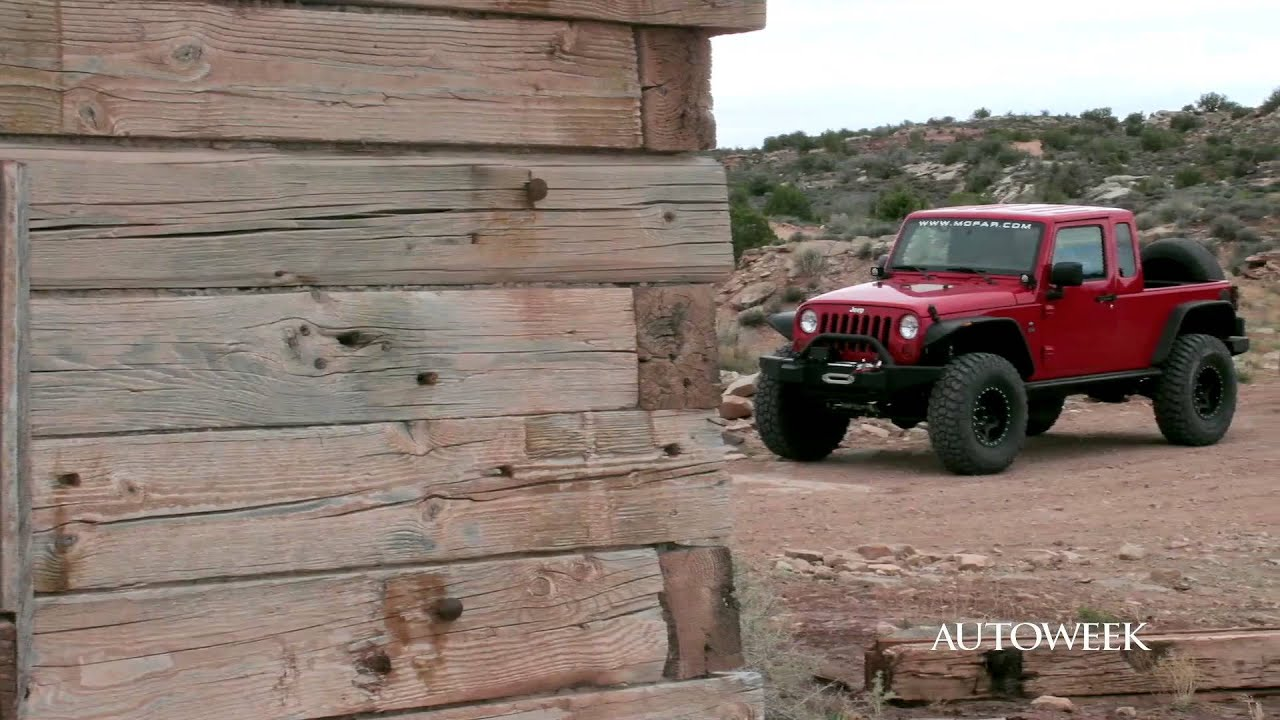 2011 Jeep Wrangler four door JK 8 conversion Autoweek Feature