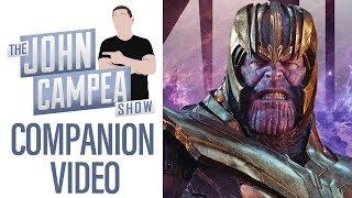 The Unbelievable Anticipation For Avengers Endgame - TJCS Companion Video