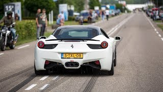 Novitec Rosso Ferrari 458 Italia with Capristo Exhaust - LOUD Revs & Accelerations !