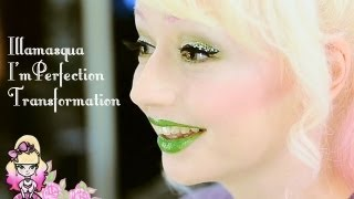 Illamasqua I'mPerfection Transformation - Speckled Eyes - Violet LeBeaux