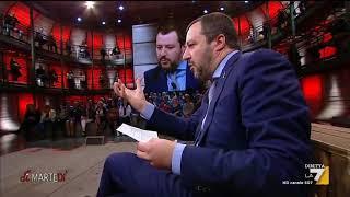 L'intervista al leader della Lega Matteo Salvini