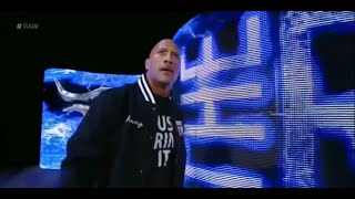 The Rock Returns Entrance to WWE Raw - 10/06/2014 HQ