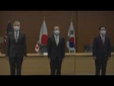 Download Japan, US and SKorea at trilateral talks in Tokyo
