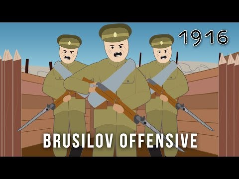 The Brusilov Offensive (1916)