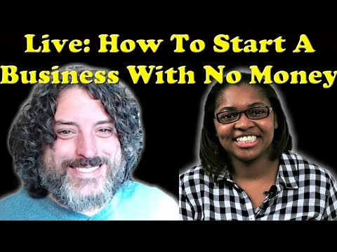 🔴 LIVE: Diana Gladney - How To Start A business With Little Or No Money In 2018