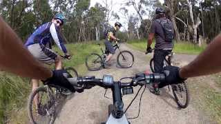 X5404 DS eBike goes Extreme off-road at Lysterfield