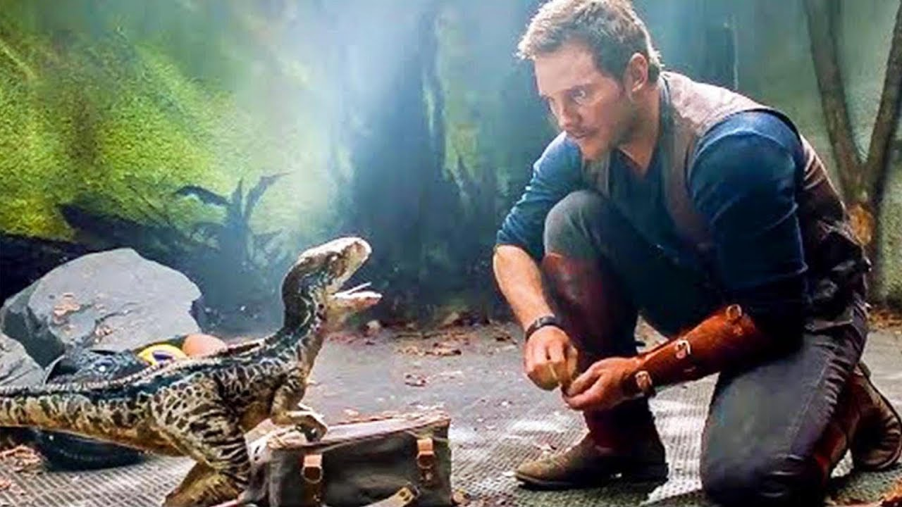 Baby Live Wallpaper Hd Les Dinosaures De Jurassic World 2 Chris Pratt Bryce