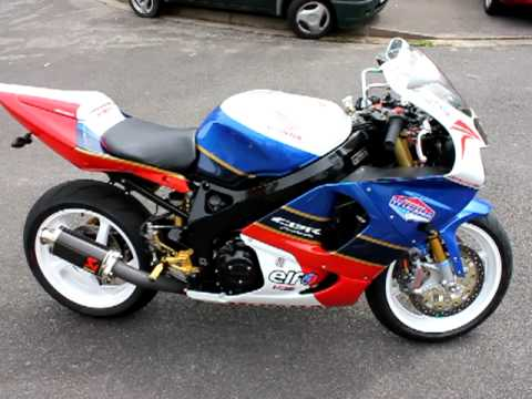 Custom Fireblade Cbr 900 Tt Legends Paint Youtube