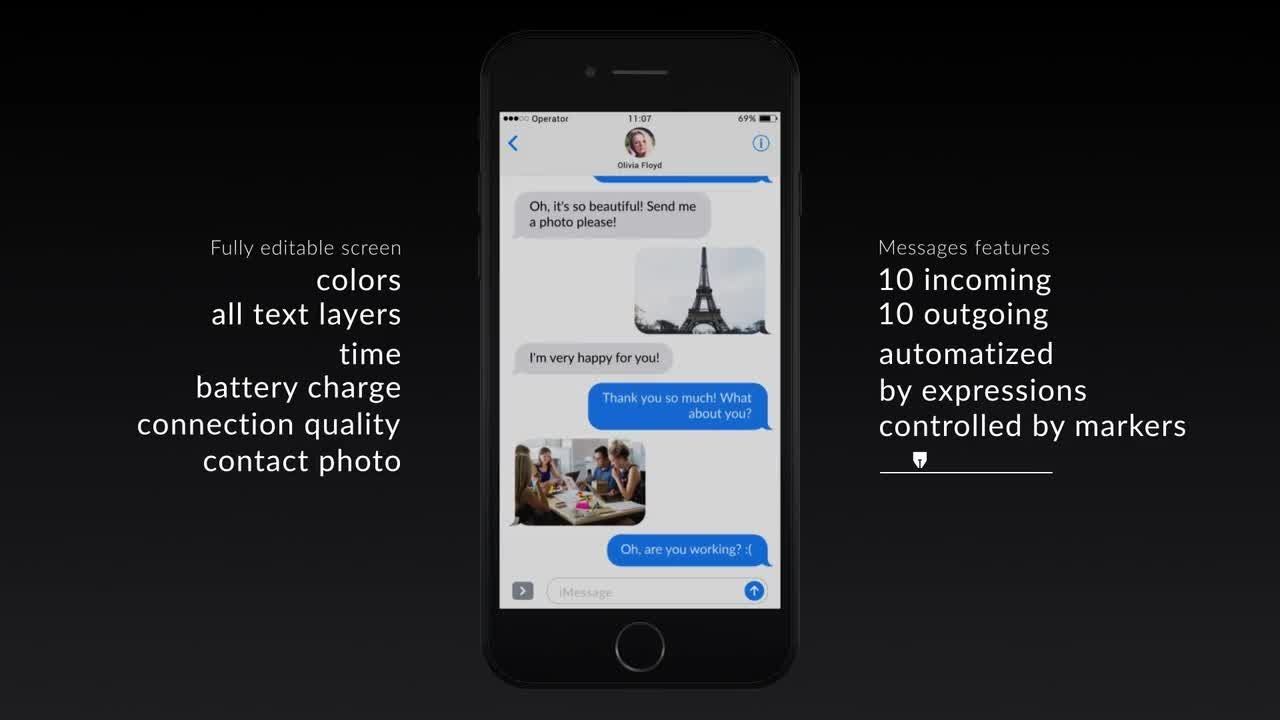 Phone text messages after effects templates youtube phone text messages after effects templates maxwellsz