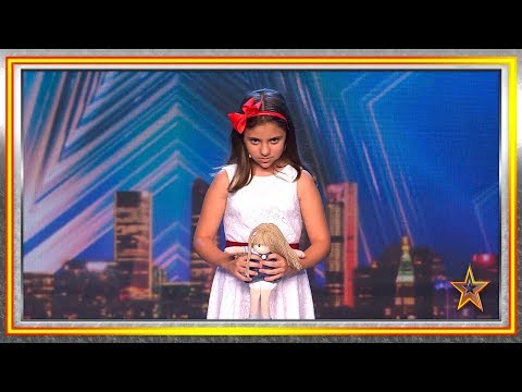 ¿Listo para temblar de miedo con esta niña y su muñeca? | Audiciones 1 | Got Talent España 2019