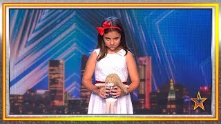 Scared of Sacred Riana? Wait until you meet this little girl | Auditions 1 | Spain's Got Talent 2019