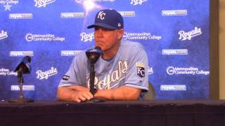 Royals manager Ned Yost addresses media after 8-2 loss thumbnail