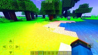 Realistic MCPE Shader! 😱 - Minecraft PE (Pocket Edition)
