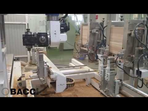 BACCI - TWIN JET - 5 axis machining center with automatic feeding