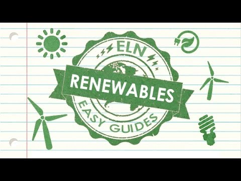 ELN EASY GUIDE - Renewable Energy | Energy Live News